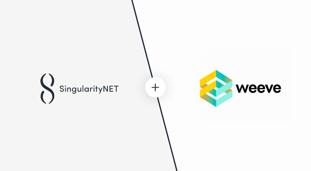 SingularityNET partners with Weeve